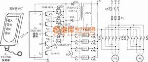 Electric Single-girder Crane Radio Remote Control Tx315b1  Circuit Diagram