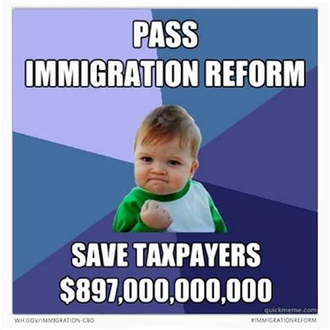 Success Baby Memes - success kid meme says pass immigration reform ny daily news
