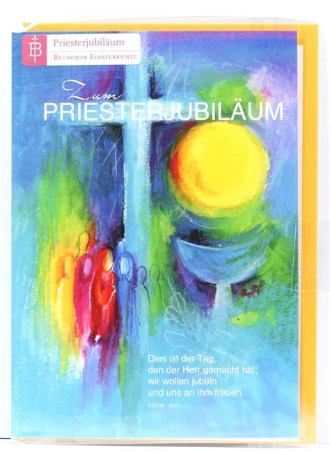 karte zum priesterjubilaeum tag des jubels