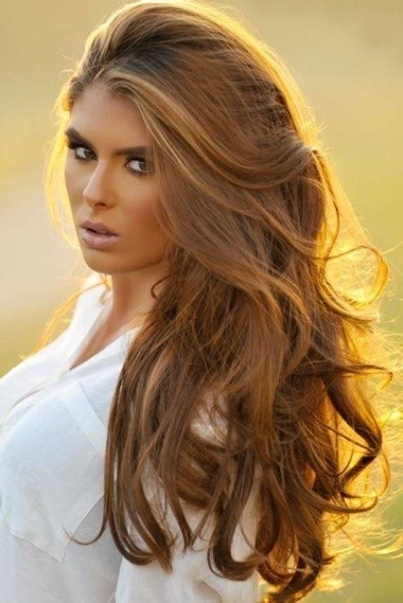 honey highlights on light brown hair beautiful honey brown hair going to this color from dark