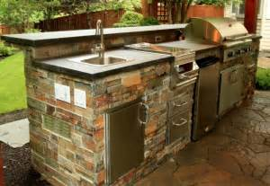 kitchen sink design ideas beautiful outdoor kitchen ideas for summer freshome