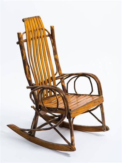 children s adirondack bentwood oak hickory rocking chair