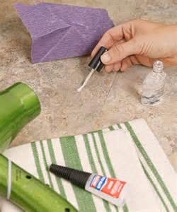 how to fix a tear in a vinyl or linoleum floor trusper