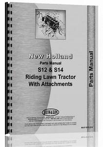 New Holland S12 Lawn  U0026 Garden Tractor Parts Manual