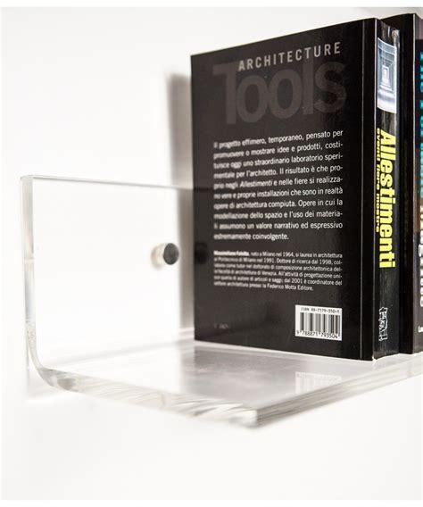 mensola trasparente mensola 35x25 in plexiglass trasparente alto spessore