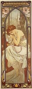 Night's Rest by Alphonse Mucha - ArtinthePicture.com