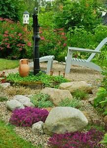 Kies Steine Garten : steingarten anlegen kies schicht bodendecker steine tipps f r den garten pinterest ~ Whattoseeinmadrid.com Haus und Dekorationen