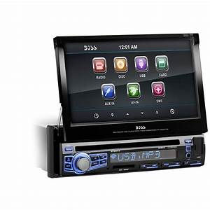 Boss Audio 97089044m Single Din 7 U0026quot  Motorized Touchscreen