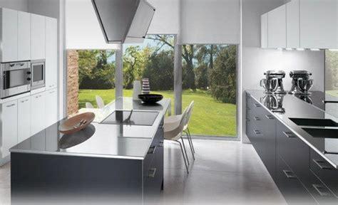 exemple cuisine avec ilot central modele de cuisine avec ilot central deco maison moderne