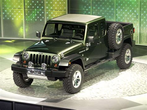 jeep gladiator 2005 jeep gladiator concept pictures review