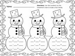 Math Worksheet Snowflake Math Worksheets Free Winter Activities Winter Worksheets Fun In First Grade Math Winter Wonder Math Printables Math Facts Subtraction Math Winter Math Worksheets New Calendar Template Site