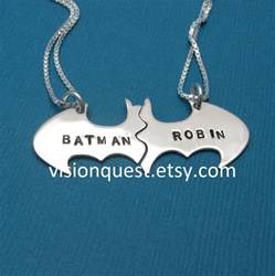 girl jewelry box personalized batman best friend necklaces personalized friendship sterling