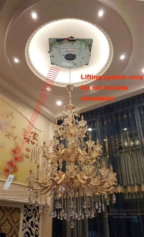 Chandelier Hoists by Auto Remote Controlled Chandelier Winches Chandelier Lift