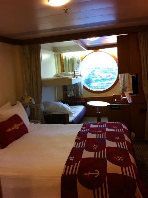 Disney Wonder Oceanview Stateroom