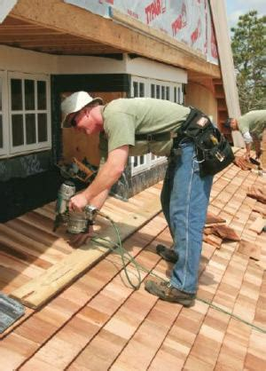 roofing with cedar shingles jlc roofing wood