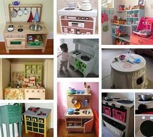 Meuble A Faire Soi Meme Recup : diy cuisine pour enfant un art de vivre ~ Zukunftsfamilie.com Idées de Décoration
