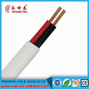 China Pvc Insulated U0026sheathed Copper Wire Flexible Flat