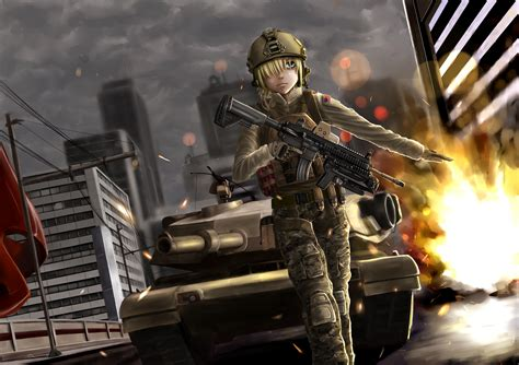 Soldier Anime Wallpaper - original 4k ultra hd wallpaper and background image