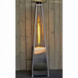 Parasol Chauffant A Gaz : parasol chauffant gaz ext rieur sun flamme pyramide design moderne ~ Teatrodelosmanantiales.com Idées de Décoration