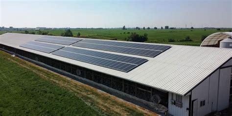 solar turkey farm agricultural panel building iowa roof confinement array