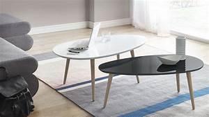 Table Basse Gigogne Scandinave : tables basses gigognes scandinaves bobochic ~ Voncanada.com Idées de Décoration
