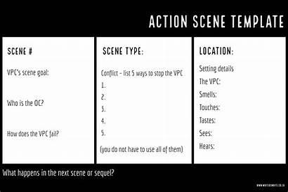 Scene Plot Template Writing Templates Writers Help