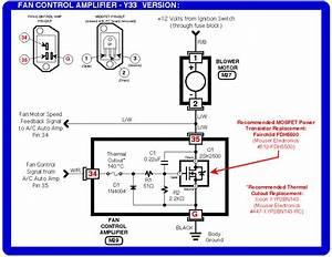 2000 Nissan Pathfinder Fan Control Amplifier