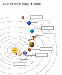Kids Page: Solar System and Planets Worksheet
