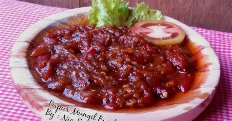 Video kali ini adalah resep memasak sambal tomat dan terasi yang enak dan tahan lama untuk beberapa hari, cara ini sangat. 9 resep sambal tomat goreng rumahan yang enak dan sederhana - Cookpad