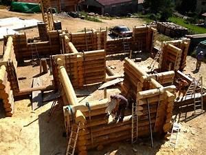 Maison Rondin Bois : construction cabane rondin ~ Melissatoandfro.com Idées de Décoration
