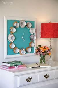 Teatime Wall Clock: Wednesday DIY