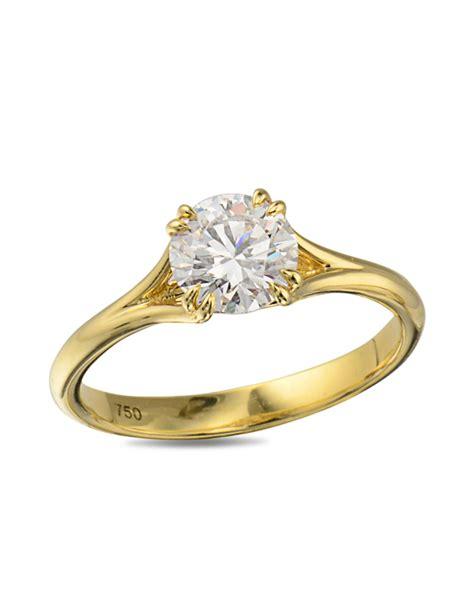 yellow gold wedding rings yellow gold engagement ring turgeon raine