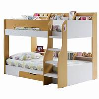 kid bunk beds Kids Flick Bunk Bed In Maple With Storage Drawer - Flair ...