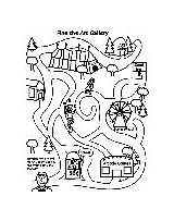 Maze Festival Breakfast Appleseed Johnny Coloring Desert Crayola Pages sketch template