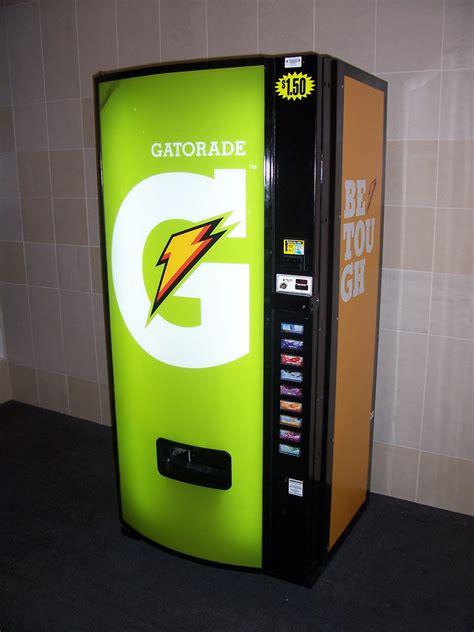 Gatorade Vending Machine   Sleek Gatorade vending machine ...