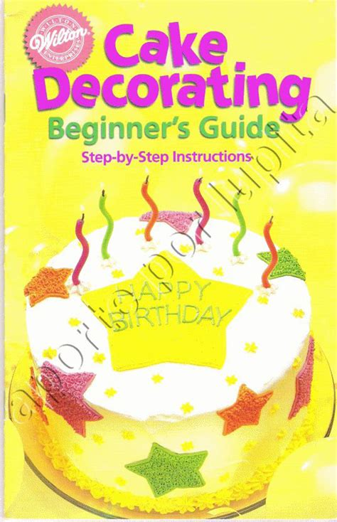 Cake Decorating Books Pdf by Wilton Free Dawnload