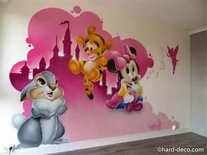 Chambre Bébé Disney : deco chambre bebe fille disney visuel 2 ~ Farleysfitness.com Idées de Décoration