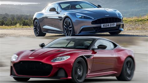 2019 Aston Martin Dbs Superleggera Vs. Aston