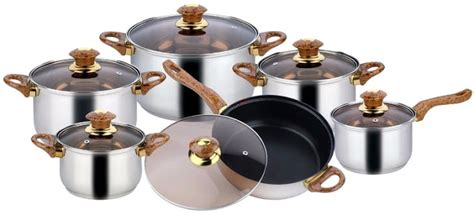 cookware sets price walmart pots  pans set