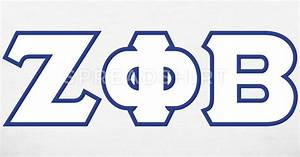 zeta phi beta greek letters 2 color custom long sleeve With zeta phi beta greek letters