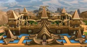 Download: Golden Fantasy Castle - Sims Online