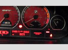 LEDmodcom BMW M3 E46 Custom Gauge Face and LED Conversion