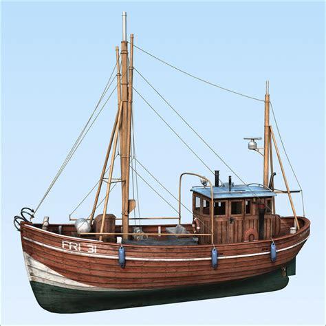 Fishing Boat Model by Fishing Boat 3d Max