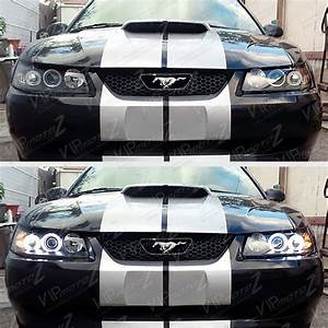 1999 2000 2001 2002 2003 2004 Ford Mustang V6 V8 Black