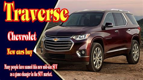 Chevrolet High Country 2020 by 2020 Chevrolet Traverse High Country Colors Changes Specs