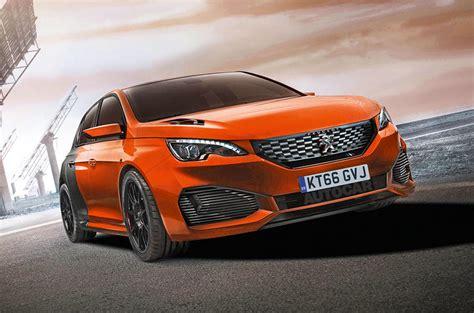 hybrid peugeot   mega hatch set  rival ford focus rs