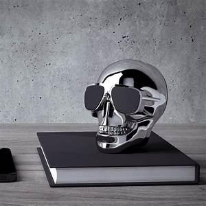 Coffret Verre Tete De Mort : aeroskull nano haut parleur t te de mort ~ Teatrodelosmanantiales.com Idées de Décoration