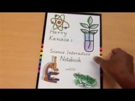 setting   science interactive notebook youtube