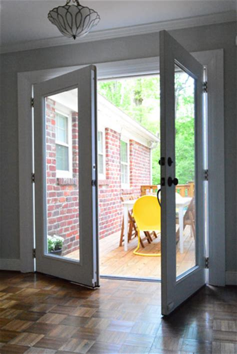 replace sliding glass door with single door our second house house