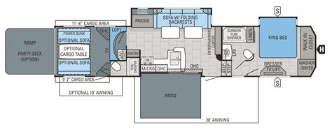 Jayco 5th Wheel Hauler Floor Plans by 2016 Seismic Hauler Floorplans Prices Jayco Inc